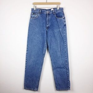 Vintage Calvin Klein high waisted mom jeans blue